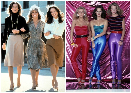 Who can forget Charlie's Angels?